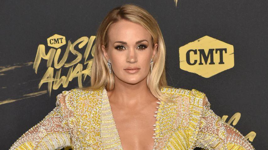 Horror-Sturz: Carrie Underwood schwer im Gesicht verletzt!