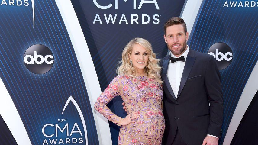 Carrie Underwood und ihr Mann Mike Fisher bei den CMA Awards 2018