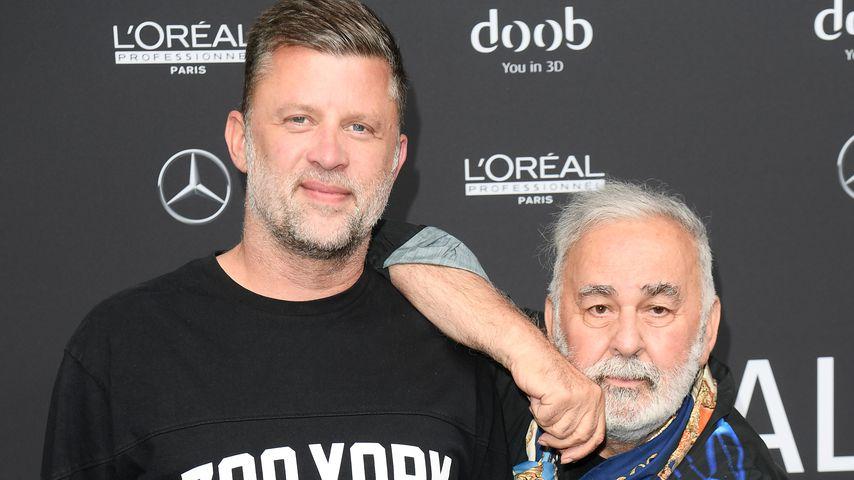 Carsten Thamm-Walz und Ehemann Udo Walz, Starfriseur