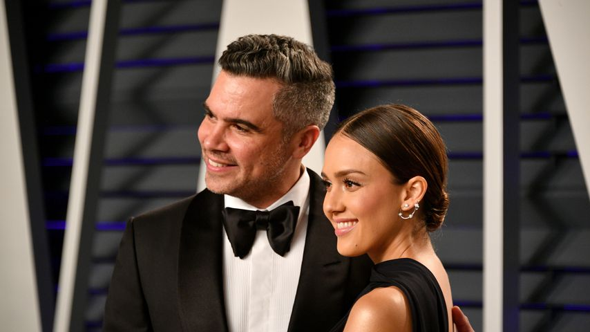 Cash Warren und Jessica Alba bei der Vanity Fair Oscar Party 2019