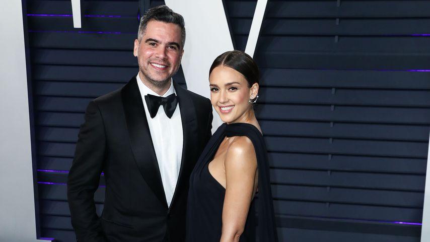 Cash Warren und Jessica Alba bei der Vanity Fair Oscar Party 2019