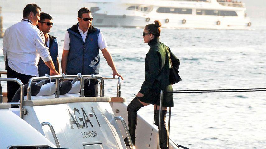 Jennifer Lopez und Casper: Yacht-Trip am Bosporus