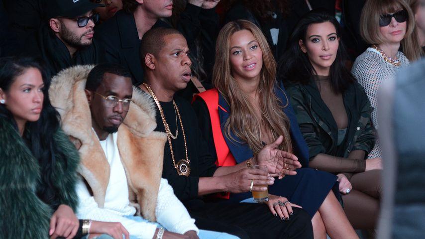 VIP-Frontrow: Star-Auflauf bei Kanyes Fashion Show