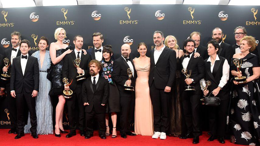 """Cast und Crew von """"Game of Thrones"""" bei den 68. Emmy Awards in Kalifornien"""