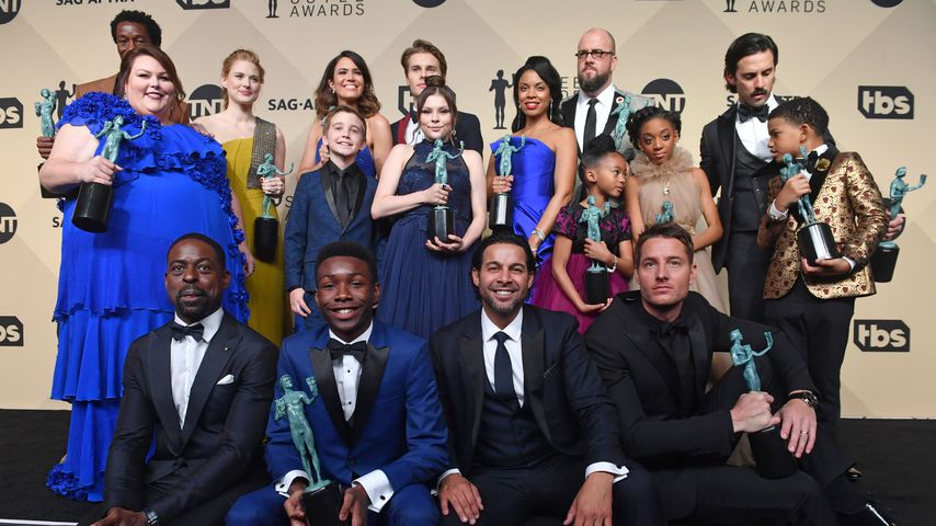 "Cast von ""This is us"" bei den SAG Awards 2018"