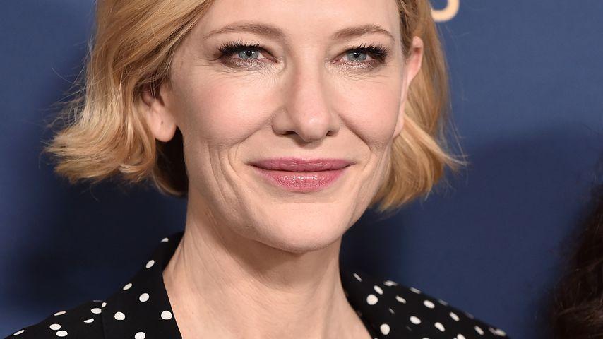 Kopfwunde: Cate Blanchett hatte einen Kettensägen-Unfall