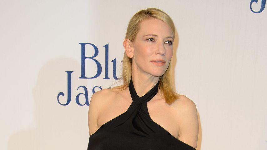 Gut getrickst: Cate Blanchett mit falschem Sidecut