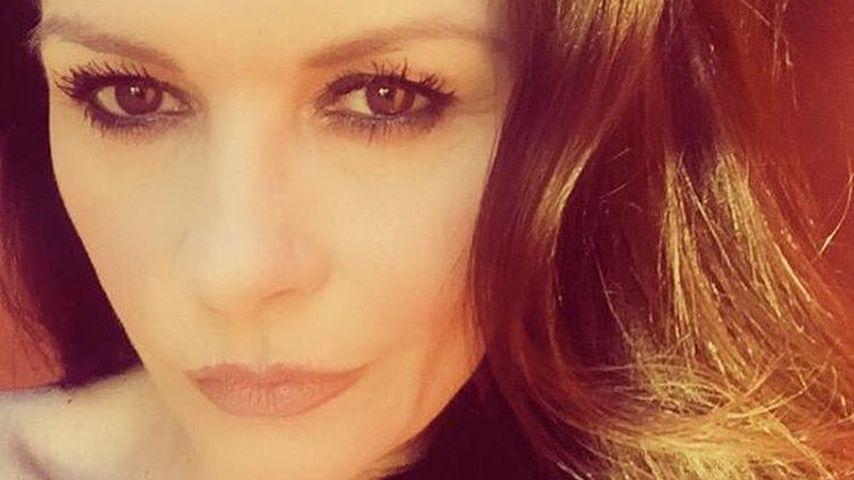 Selfie von Catherine Zeta-Jones an Weihnachten 2016