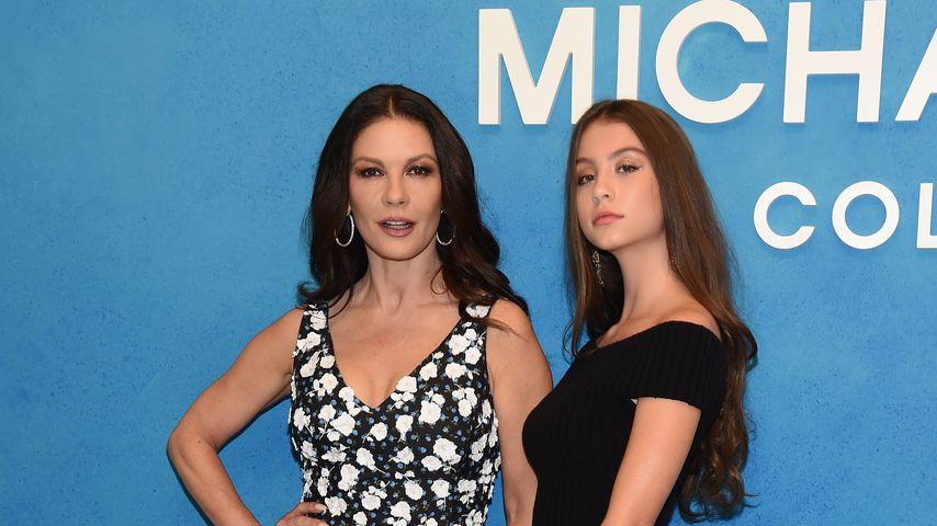 Catherine Zeta-Jones und ihre Tochter Carys