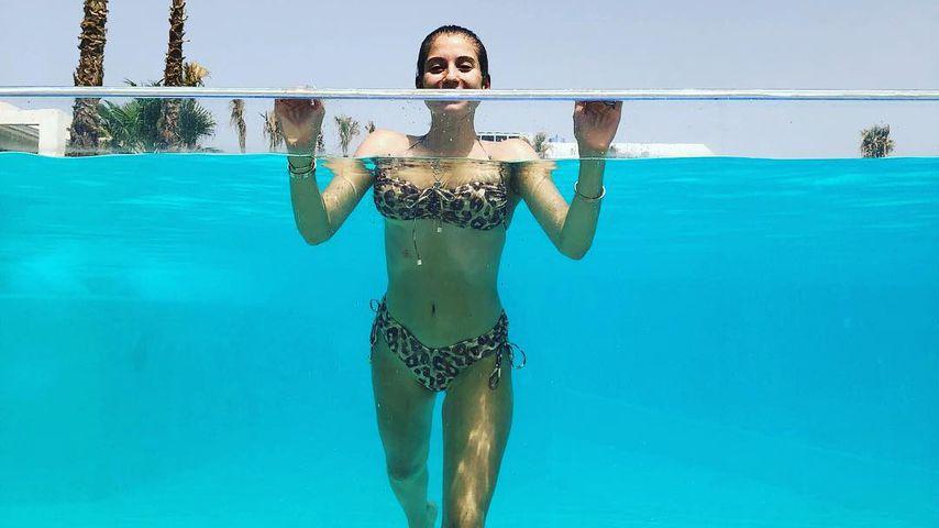 Urlaubsmodus mit Mats & Baby: Cathy Hummels sexy im Bikini!