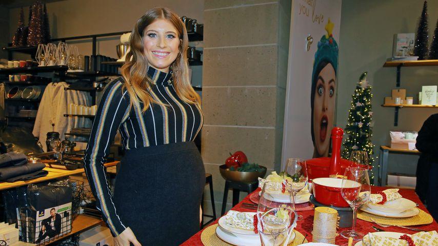 XXL-Baby-Kugel: Cathy Hummels peppt Pop-up-Laden auf!