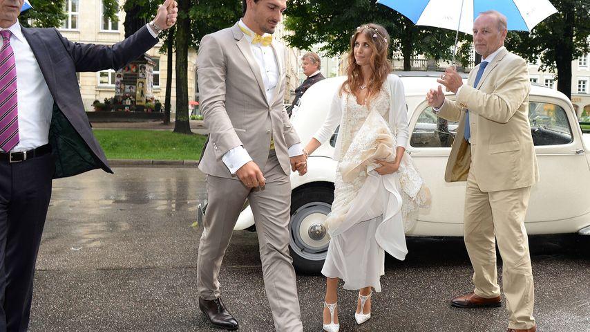 Cathy und Mats Hummels bei Hochzeit