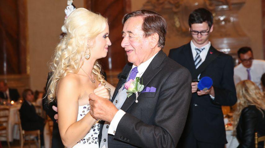 Cathy und Richard Lugner auf ihrer Hochzeit 2014 in Wien