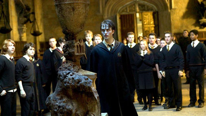 """Robert Pattinson als Cedric Diggory in """"Harry Potter und der Feuerkelch"""""""