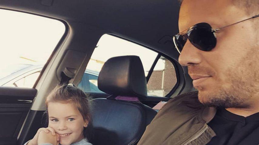 Celina-Sophie Wollny unterwegs mit Papa Florian