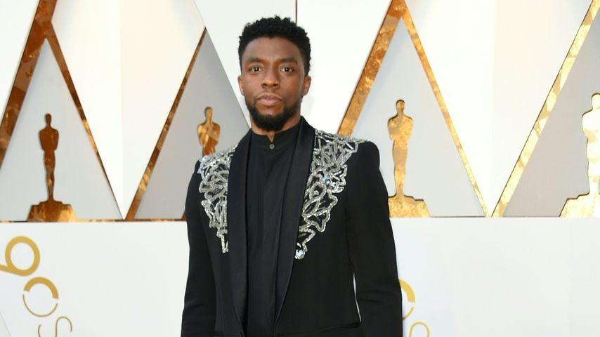Chadwick Boseman bei den Oscars 2018