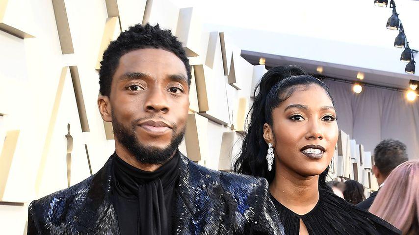 Vor seinem Tod: Heiratete Chadwick Boseman seine Freundin?