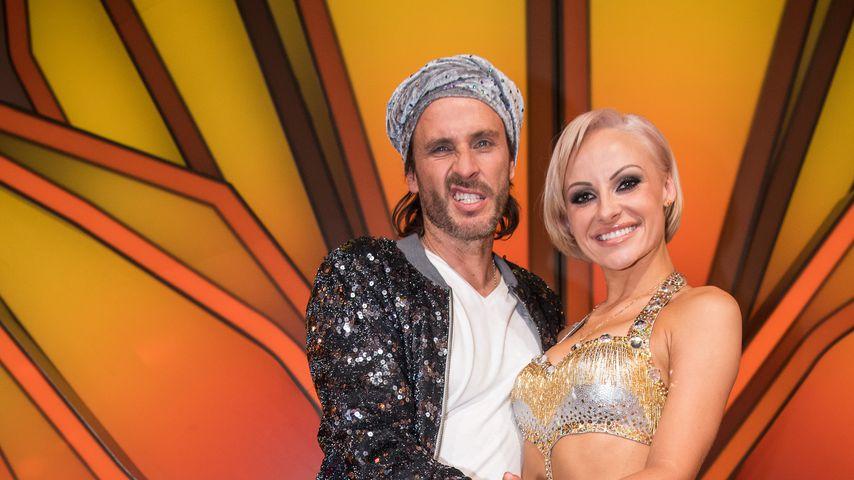 """Chakall und Marta Arndt in der Kennenlernshow bei """"Let's Dance"""" 2018"""