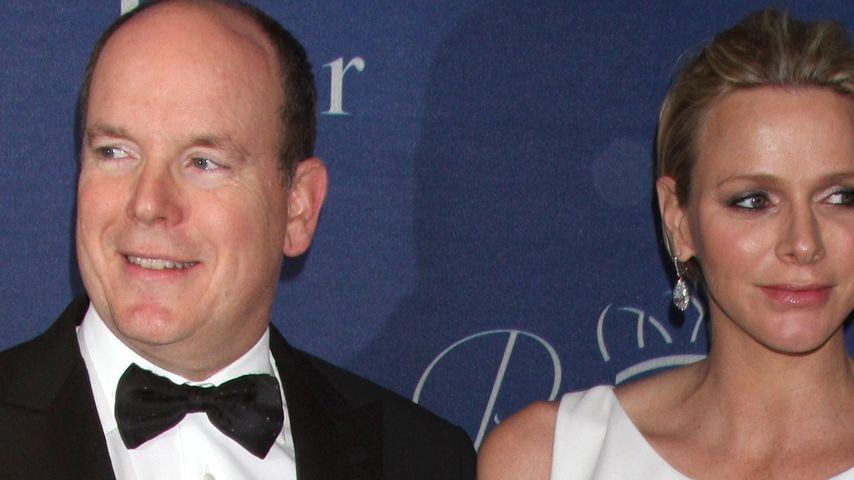 Albert II von Monaco und Charlene Wittstock