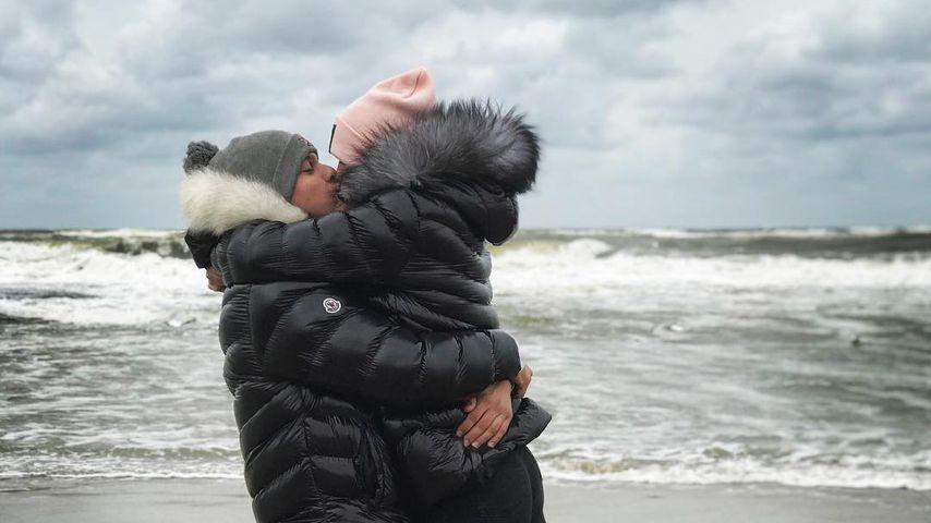 GNTM-Kandidatin Chanel Silberberg mit ihrem Freund