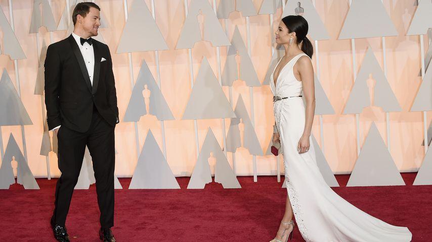 Channing und Jenna Dewan Tatum bei den Oscars 2015