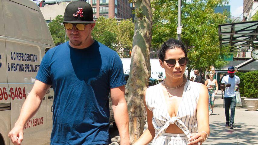 7 Jahre Ehe: Channing Tatum & Jenna im coolen Paar-Style