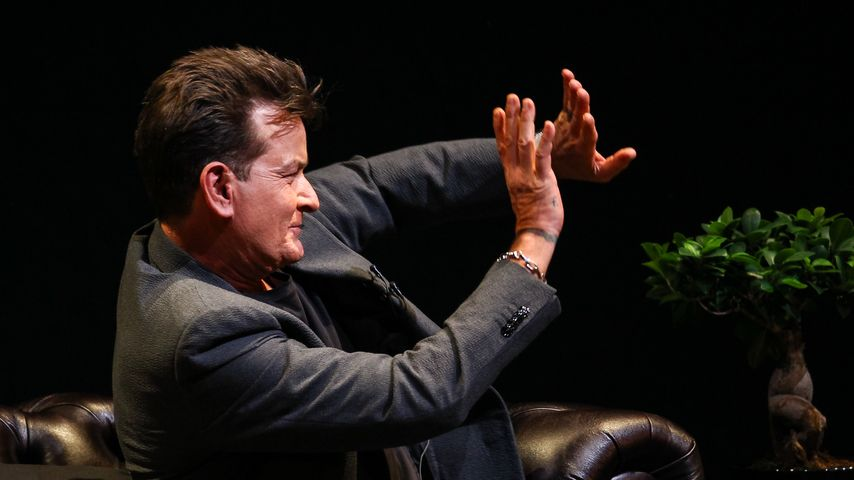 Charlie Sheen in London