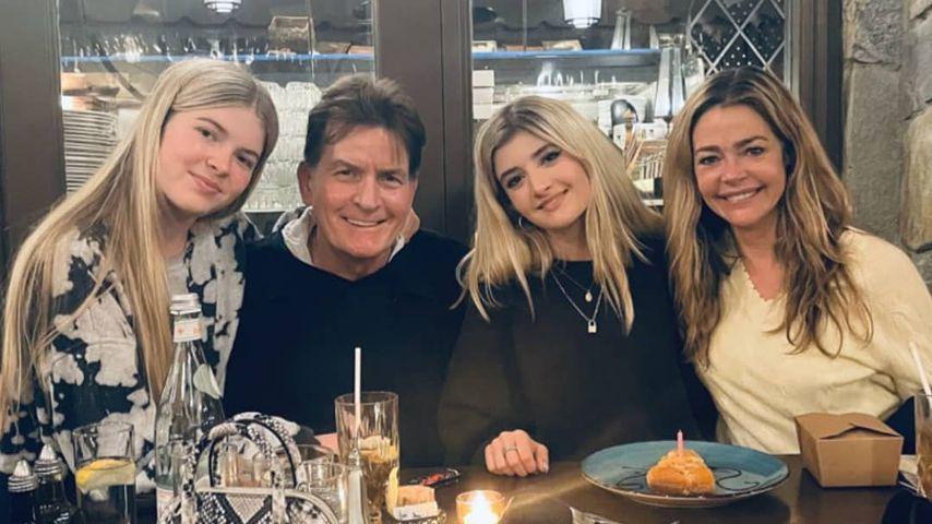 Charlie Sheen und Ex Denise Richards feiern eine Reunion