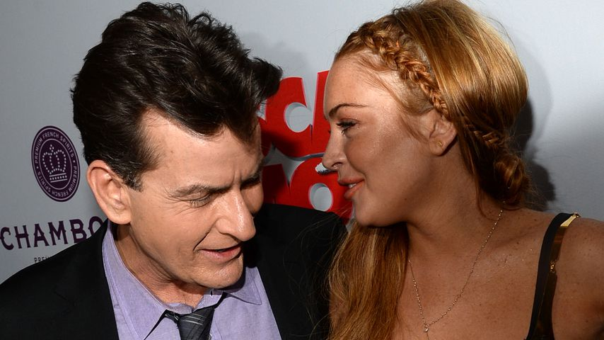 Von wegen blank: Jetzt packt Lindsay Lohans Ex-Verlobter aus