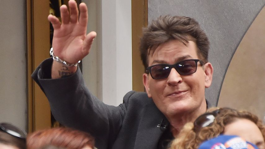Insta-Push: Deshalb postete Charlie Sheen Zwillings-Pic