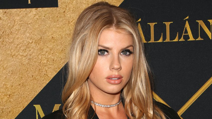 Model Charlotte McKinney in Hollywood