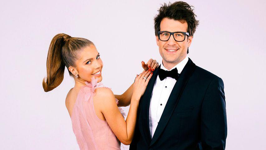 """Victoria Swarovski und Daniel Hartwich, Moderatoren bei """"Let's Dance"""""""