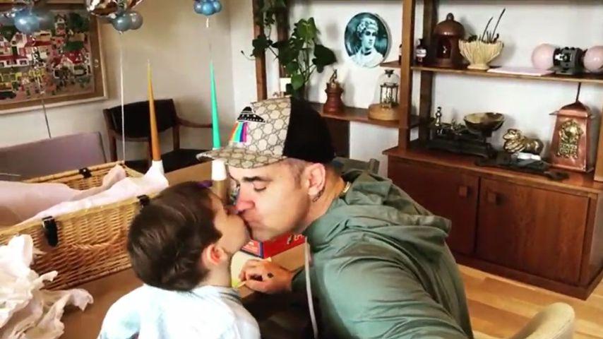 Vollblutpapa Robbie Williams: Seine Kinder vergöttern ihn!
