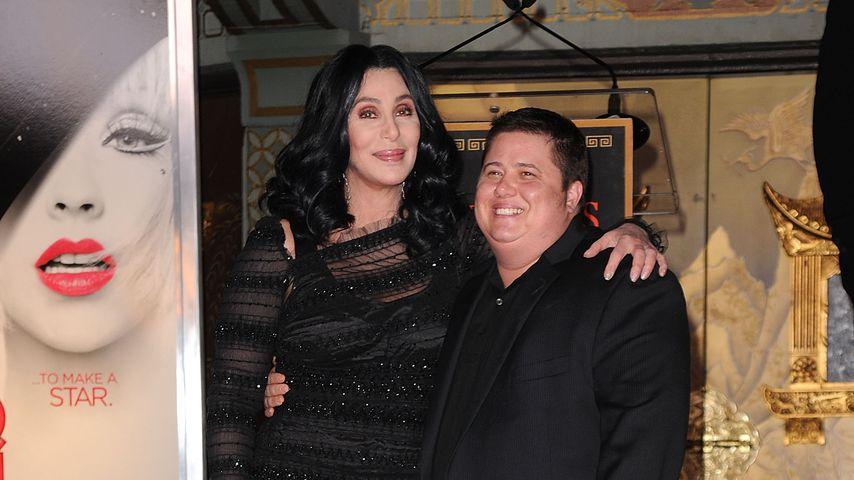 Cher mit Sohn Chaz Bono