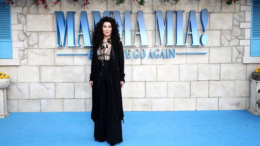 """Cher, Weltpremiere zu """"Mamma Mia! Here We Go Again"""""""