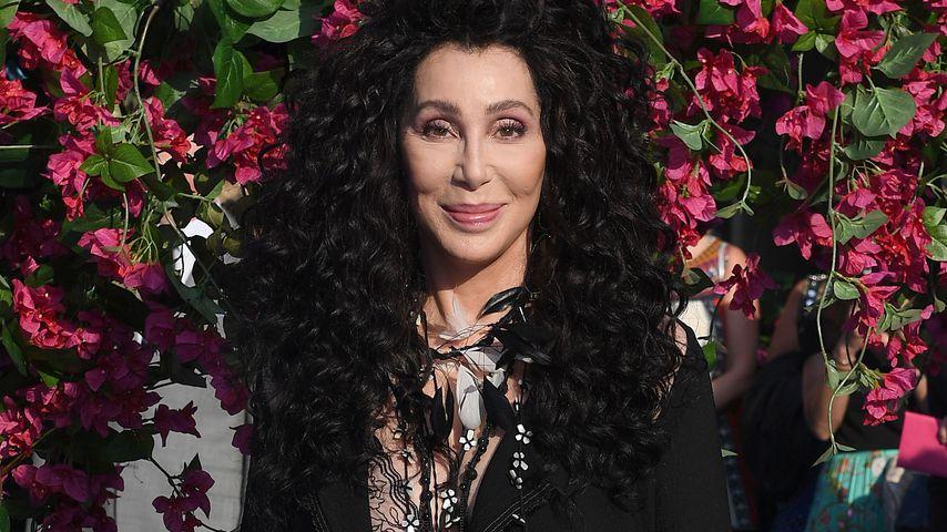 """Cher auf der Weltpremiere von """"Mamma Mia! Here we go again"""", 2018"""