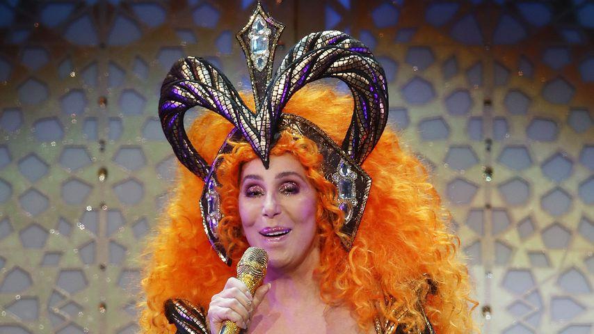 """Cher während ihrer """"Here We Go Again""""-Tour in Melbourne"""
