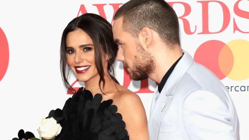 Cheryl Cole und Liam Payne Hand in Hand bei den Brit Awards