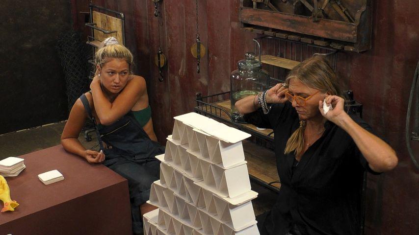 """Chethrin Schulze und Nicole Belstler-Boettcher im """"Promi Big Brother""""-Haus"""
