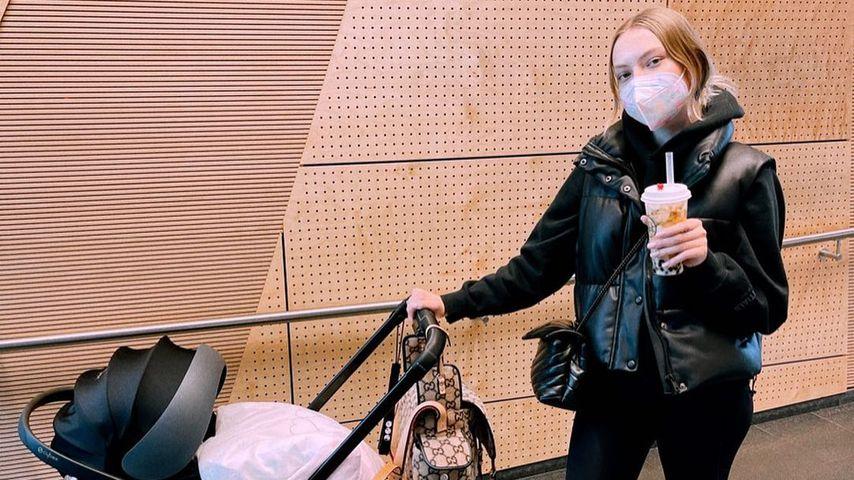 """""""Klappt alles super"""": Cheyenne Ochsenknecht gibt Baby-Update"""