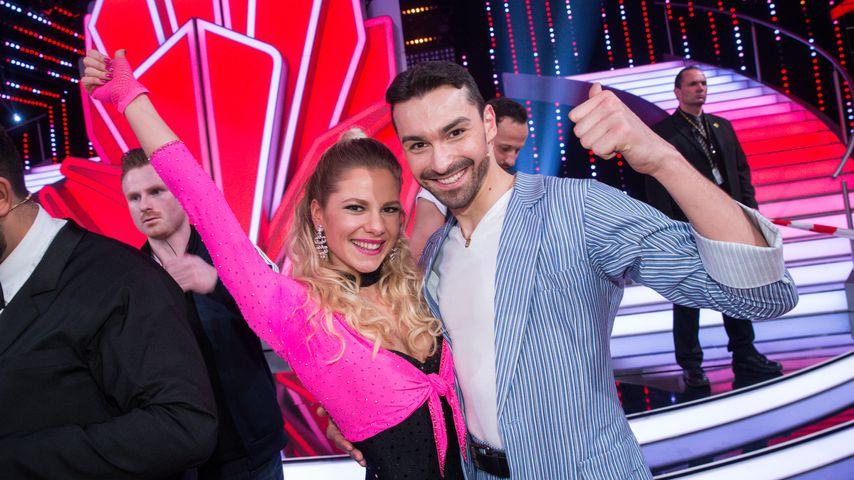 """Cheyenne Pahde und Andrzej Cibis bei der 2. Show von """"Let's Dance"""" in Köln, März 2017"""