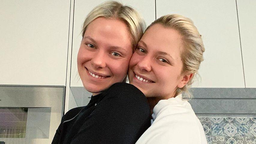 Ohne Make-up: So natürlich schön sind die Pahde-Zwillinge