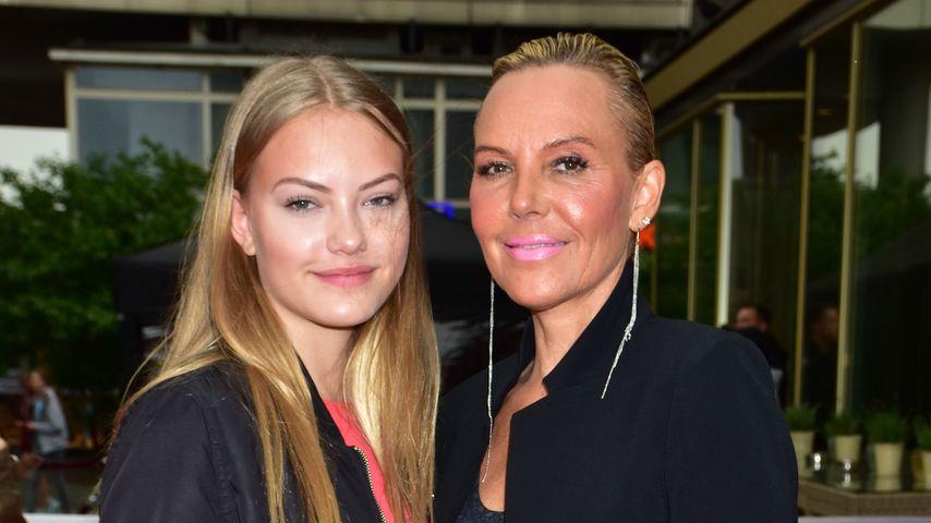 """Cheyenne und Natascha Ochsenknecht bei der """"Seitenwechsel""""-Premiere in Berlin"""