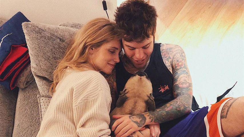 Blogger-Blues: Schwangere Chiara Ferragni vermisst Familie!
