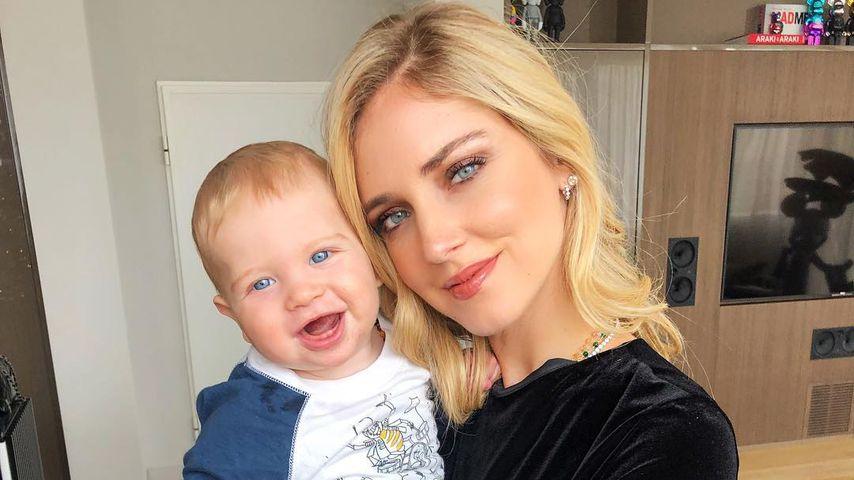 Chiara Ferragni mit Sohn Leone