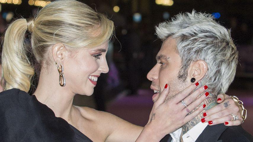 Chiara Ferragni mit ihrem Ehemann Fedez