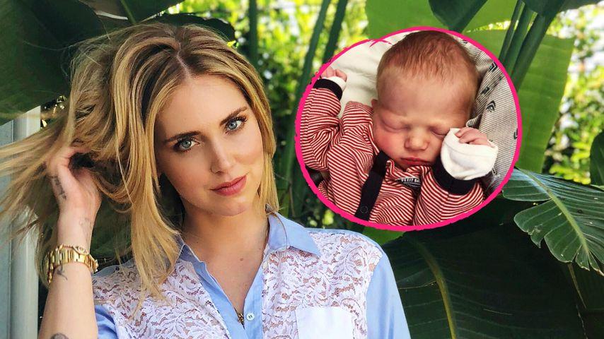 Bloggerin Chiara Ferragni: Hier zeigt sie Baby Leos Gesicht!