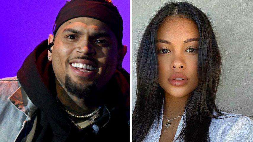 Ist Chris Brown etwa doch mit seiner Baby-Mama zusammen?