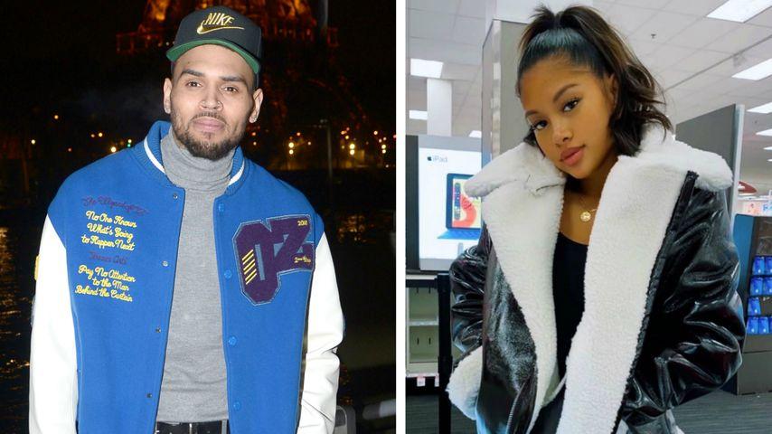 Im Netz: Chris Brown flirtet mit On-Off-Freundin Ammika