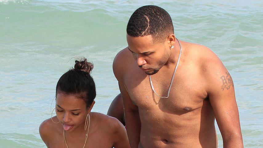 Karrueche Tran und Chris Brown in Miami
